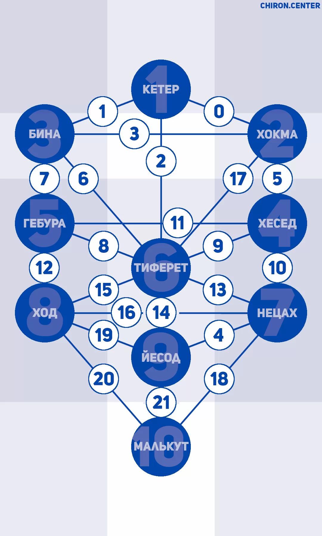 Цинароты — это линии, которыми соединены между собой сефироты составляющие Древо Жизни. Они соответствуют 22 буквам еврейского алфавита и Старшим Арканам Таро. Но рассматривать их отдельно от Древа Жизни нельзя.